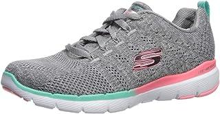 Skechers Women's Flex Appeal 3.0 - REINALL Shoe, Gym, 8H M US