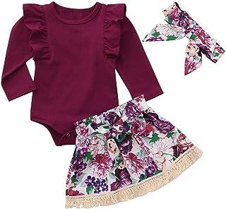 Jchen TM Clearance Newborn Baby Girls Boys Christmas Long Sleeve Letter Print Romper Jumpsuit Sleepwear for 0-4 Y
