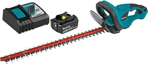 "2021 Makita XHU02M1 outlet online sale 18V LXT Lithium-Ion Cordless 22"" wholesale Hedge Trimmer Kit (4.0Ah) sale"