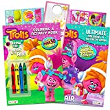 Dreamworks Trolls Coloring and Activity Book Set -- 2 Trolls Books, Trolls Stickers, Posters, and Licensed Door Hanger
