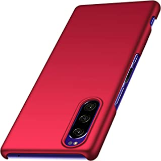 anccer Compatible for Sony Xperia 5 Case [Colorful Series] [Ultra Thin] Hard Slim Cover for Xperia 5 (Red)