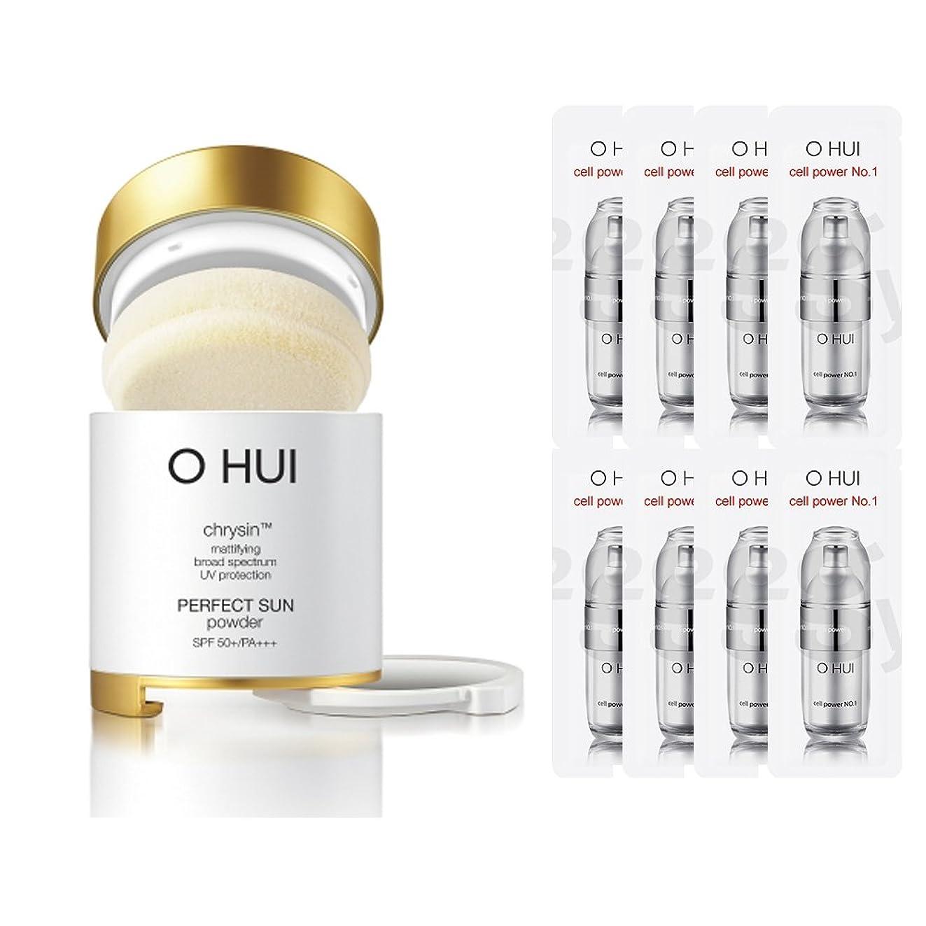 OHUI/オフィ2015年 パーフェクトサンパウダー (OHUI Version Perfect Sun Powder SPF50++PA+++ Special Gift set) スポット [海外直送品] (2号ベージュ)
