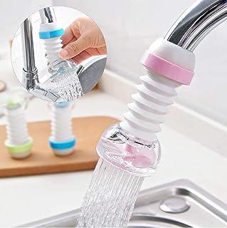 Carrot® - 360 Degree Water Saving Faucet Adjustable multiple Types of Output Water Valve Splash Regulator Water Filter Tap...