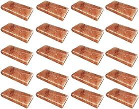 SudoreWell® Sel pour sauna Briques de sel 20x20x4 cm de la gamme Sel du Pakistan - 20 pièces