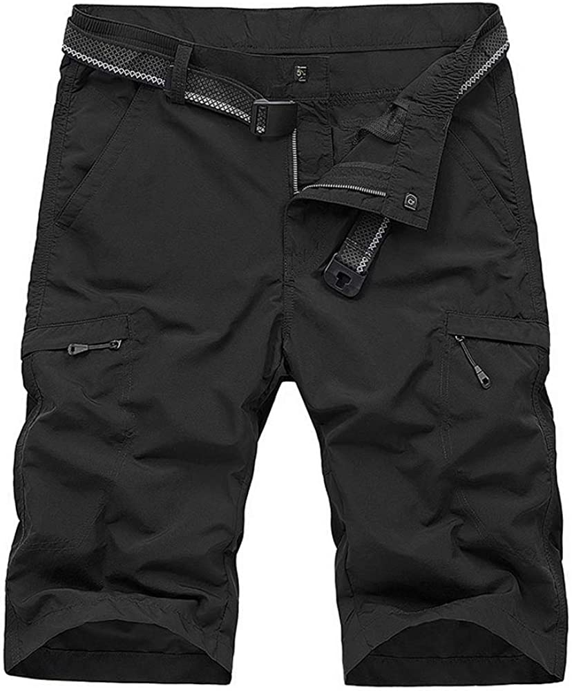 OCHENTA Men's Lightweight Quick Fashion Dry for Al sold out. Camp Cargo Shorts Hiking