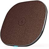 LUXSURE Fast Qi Wireless Charger Kabelloses Induktions Ladegerät schnelles Laden für iPhone 11/11...
