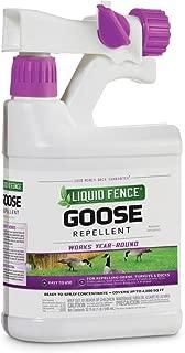Liquid Fence HG-1466X 146 Goose Repellent, 1-Quart Hose End Sprayer, Pack of 1, Brown/A