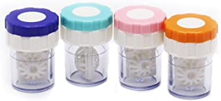 Best contact lens barrel case cleaning container Reviews