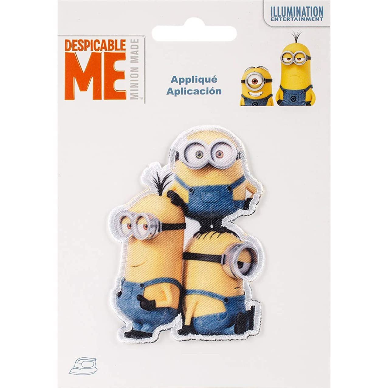 Wrights 193 9645 DreamWorks Minions Iron-On Applique