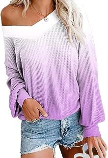 Secutoryang Womens Summer Tank Tops Casual Twist Knot Waffle Knit Shirts