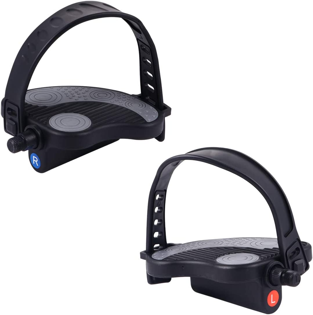 BESPORTBLE Super-cheap 1 Pair Exercise Bike shopping Pedals Str with Spin