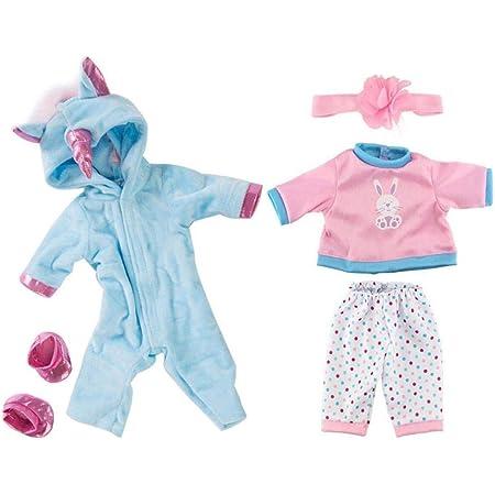 Amazon.es: Pijamas Ropa Vestido Juguete para 18 Pulgadas ...