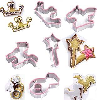 TAMUME Princesa Kit de Galletas Incluyendo la Varita Mágica, Corona, Palacio, Anillo de