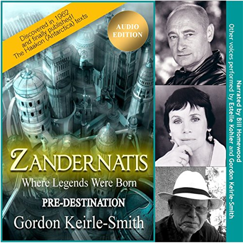 Zandernatis: Pre-Destination audiobook cover art