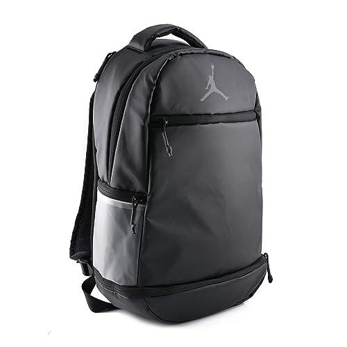 00cb4c623b69 Nike Air Jordan Skyline Weathered Backpack (Black)