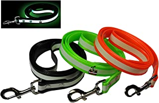 New Glow in The Dark Dog and Cat Safety Leash Lead, Durable Strong TPU Leash, Suitable for Small Medium and Large Cats or Dogs