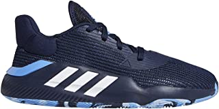 adidas Men's Pro Bounce 2019 Low Basketball Collegiate Navy/White/Real Blue 11.5
