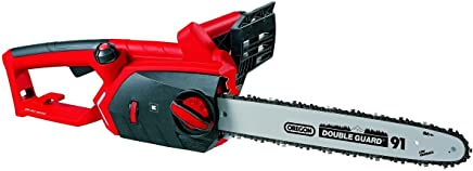 Einhell 4501740 GE-EC 2240 Motosierra eléctrica , 2200 W, 240 V, protección contra retroceso, transmisión metálica
