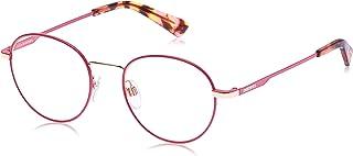 نظارات شمسية للجنسين من ديزل DL029074S50 - زهري/ خمري معدني