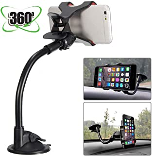 MASO Universal 360°Car Phone Mount in Car Windscreen Dashboard Holder Mount for GPS PDA Mobile Phone