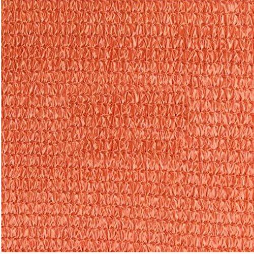 DUO Voiles d'ombrage Voile d'ombre de Sun de bloc de sable de triangle de 3 × 3 × de 3m 3M parfait pour le jardin extérieur de patio pour plante et fleur (Color : Rust red)