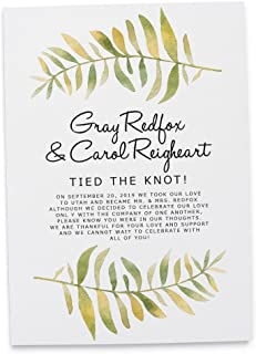 Best we tied the knot wedding invitations Reviews