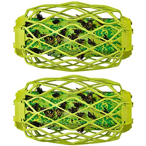 RESCUE! Carpenter Bee TrapStik – Also Works on Wasps, Mud Daubers - 2 Traps
