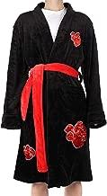 Anime-Cos Akatsuki Uchiha Itachi Kimono Bathrobe for Men Sleepwear Anime Robe Nightwear Pajamas