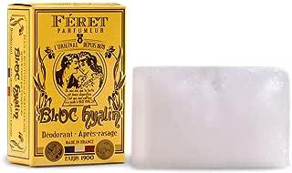 Féret Parfumeur - Bloc Hyalin - Deodorant & Aftershave Alum Block (100 g)