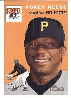 2003 Topps Heritage #312 Pokey Reese Pirates MLB Baseball Card NM-MT