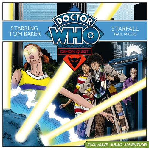 Doctor Who: Demon Quest 4 - Starfall audiobook cover art