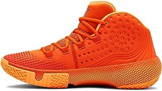 Men's HOVR Havoc 2 Basketball Shoe, Team Orange (800)/Glow Orange, 7.5