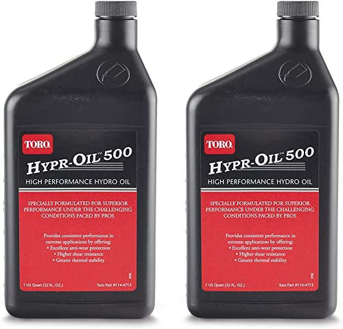 popular Toro 114-4713 outlet sale Hypr-Oil 500 1 Quart of Hydro Oil (2 high quality Pack) online