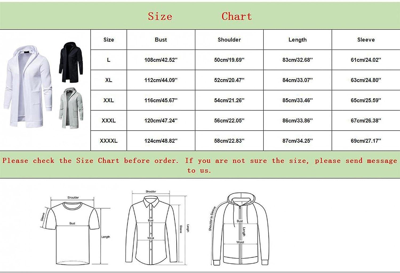 Aayomet Men's Hoodies Cardigan Winter Warm Solid Zipper Casual Long Sleeve Hooded Pullover Coat Sweaters Tops