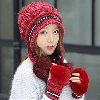 MZHHAOAN Winter Hat Female Autumn and Winter Fashion Women's Female Toe Cap New Warm Single Cap