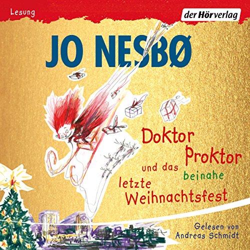 Couverture de Doktor Proktor und das beinahe letzte Weihnachtsfest