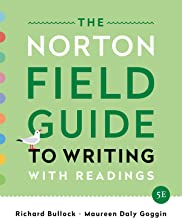 The Norton Field Guide to Writing: with Readings (Fifth Edition)