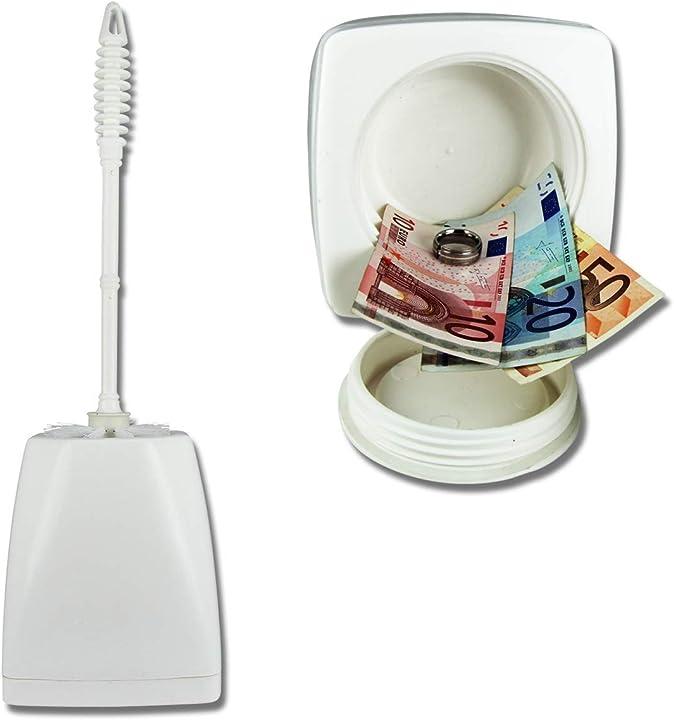 spazzolone wc con cassaforte  kh security 370160