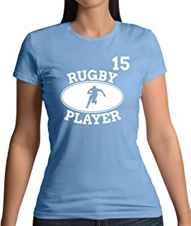 Rugby Player 15 - Womens T-Shirt - 10 Colours