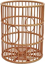 Clothes Bin Dirty Clothes Storage Basket Large Wooden Rattan Bathroom Storage Waterproof (Size : A)
