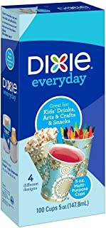 Dixie All Purpose Cups, 5 oz, 100 Count (3 Pack)