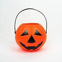 ハロウィンキャンディジャー、ポータブルカボチャ提灯、祭り用品、子供のおもちゃ、プラスチック盂蘭盆ルミナスデコレーション・ライト,18
