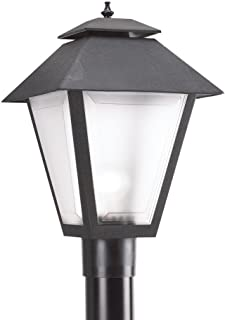 Sea Gull Lighting 82065-12, Outdoor Post Lanterns Outdoor Post Lighting, 75W, Black