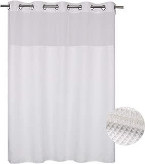 cotton shower curtain no liner