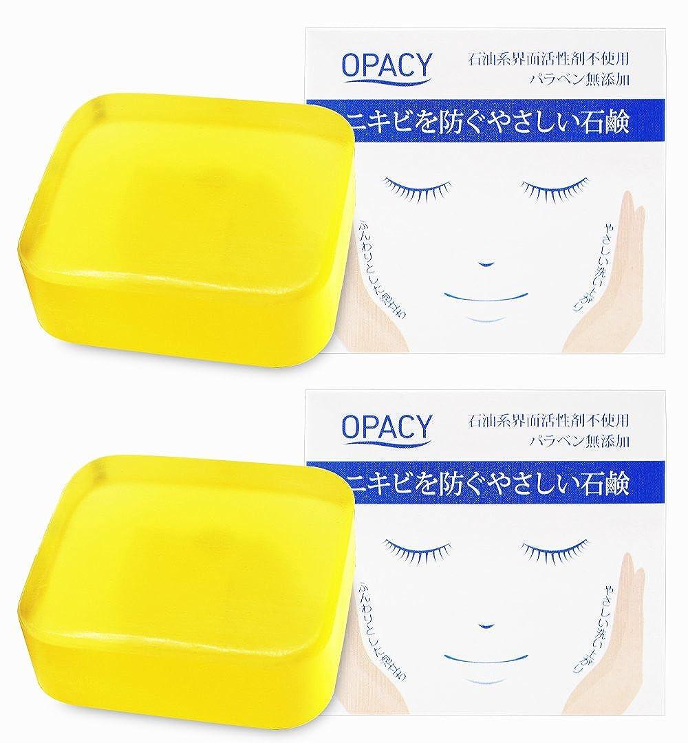 コンソール荒涼とした北米【2個セット】オパシー石鹸100g (2個)