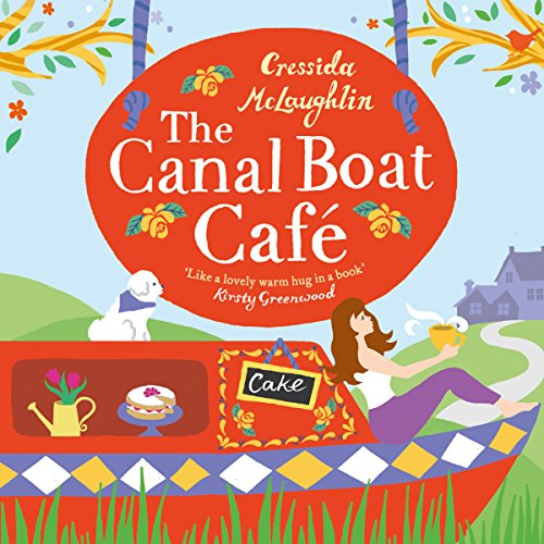 The Canal Boat Café audiobook cover art