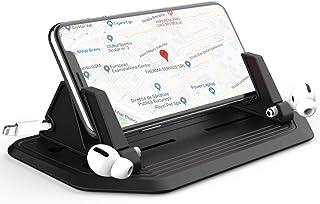 Leaflai Handyhalterung fürs Auto, 2020 Upgrade Armaturenbrett KFZ Handyhalterung Silikon Matte Halterung Universal Anti Rutsch Halter für iPhone Huawei