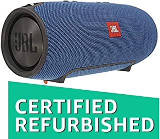 (Renewed) JBL Xtreme Ultra-Powerful Portable Speaker with Built-in Powerbank (Blue)