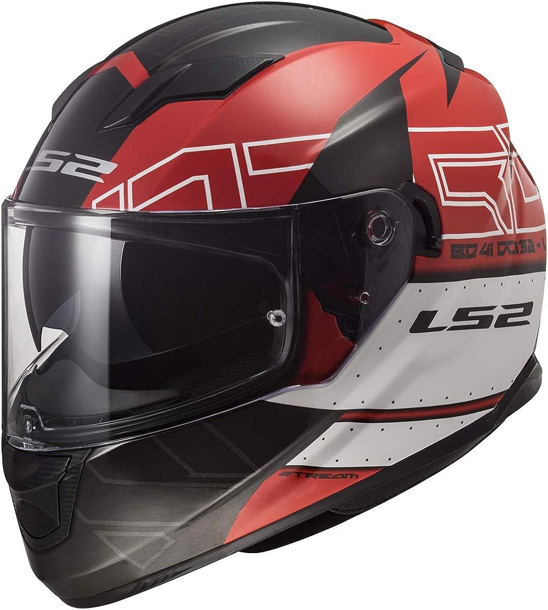 LS2 代引き不可 Helmets Full Face Stream ショッピング Street Helmet