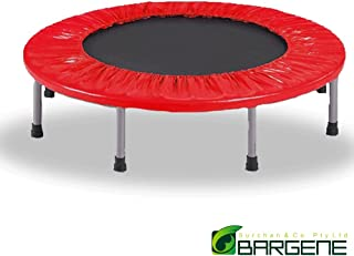 40 Inch Mini Trampoline Jogger Rebounder Home Gym Workout Fitness Outdoor Indoor Red